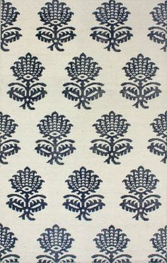 nuLOOM Cream riley hand-knotted rug