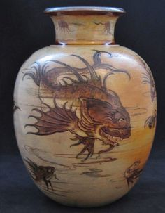 Martin Brothers Vase