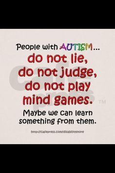 People with Autism