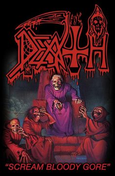 blood gore | DEATH | Scream bloody gore - Nuclear Blast