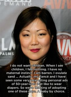 Margaret Cho | 14 Celebrities Who Don't Necessarily Want Kids