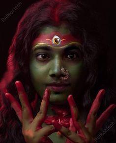 Kali Mantra, Indian Goddess Kali, Hindi Words, Halloween Face Makeup, Kolkata, Instagram, Death, Lord, Gallery