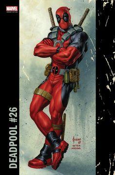 #Deadpool #Fan #Art. (Deadpool Vol.4#26 CORNER BOX Cover) Joe Jusko. ÅWESOMENESS!!!™ ÅÅÅ+