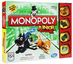 The Playful Otter: Monopoly Junior
