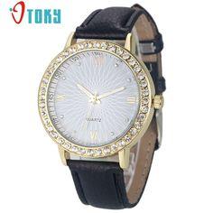 $1.72 (Buy here: https://alitems.com/g/1e8d114494ebda23ff8b16525dc3e8/?i=5&ulp=https%3A%2F%2Fwww.aliexpress.com%2Fitem%2FStylish-Watch-Leather-Strap-Quartz-Wrist-watch-for-women-Casual-Crystal-Dress-Watches-Relojes-Mujer-30%2F32785582490.html ) OTOKY Watc