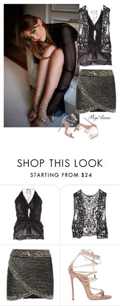 """Sunday"" by anne-977 ❤ liked on Polyvore featuring Lanvin, INC International Concepts, Parker and Dsquared2"