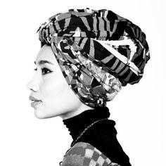 Yuna Zarai's turban style is my short term goal.