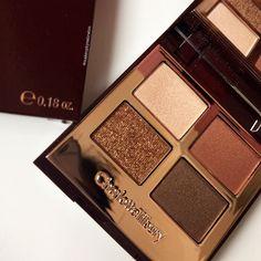 """makeupbyzahrahm: """"'The Dolca Vita' Palette by @ctilburymakeup Charlotte tilbury- @makeupbyzahrahm """""""