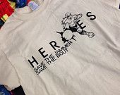 Heroes Save the Jammer unisex shirt