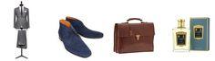pakken, schoenen, tassen en geurtjes bij Romeyn Tailors
