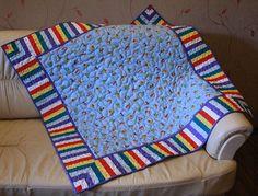 """Купить Детское лоскутное одеяло """"Юный автолюбитель"""" в интернет магазине на Ярмарке Мастеров"""