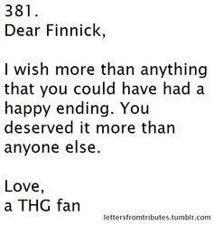 dear finnick