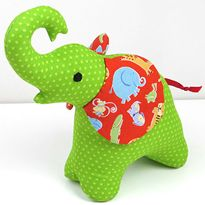 "Free ""Trunk Up"" Elephant Pattern"