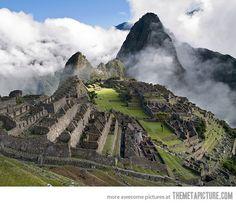 oh my. Machu Picchu.