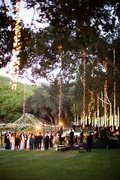 View entire slideshow: Outdoor Lighting on http://www.stylemepretty.com/collection/1585/