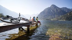 Mtb, Hallstatt, Moritz, Bike Life, Boat, Outdoor, Bike Trails, Bike Rides, Hiking Trails