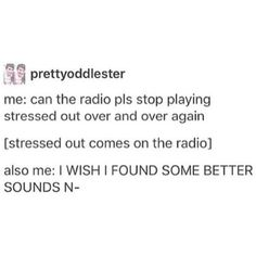I love when they play Stressed Out, Ride, and Heathens.... but it'd be cool to if they'd play Vessel occasionally.