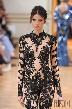 Zuhair Murad Fall-winter 2013-2014 - Couture - http://www.flip-zone.net/fashion/couture-1/fashion-houses/zuhair-murad-4018 - ©PixelFormula