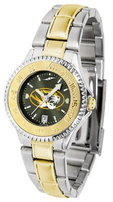 Missouri Tigers- University Of Competitor Anochrome - Two-tone Band - Ladies - Women's College Watches by Sports Memorabilia. $95.43. Makes a Great Gift!. Missouri Tigers- University Of Competitor Anochrome - Two-tone Band - Ladies