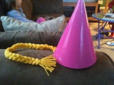 Rapunzel Tangled Party Hats