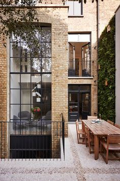 Notting Hill Townhouse – Hackett Holland - double height side return