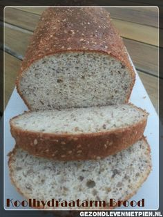 Carb bread - the best recipe ever Pien Dijkstra Low Carb Low Fat, I Love Food, Good Food, Enjoy Your Meal, Lowest Carb Bread Recipe, Brunch, Low Carb Lunch, Fabulous Foods, Food Inspiration