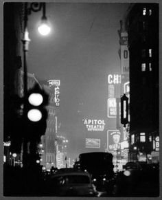 Times Square, 1940. Photo by Andreas Feininger.