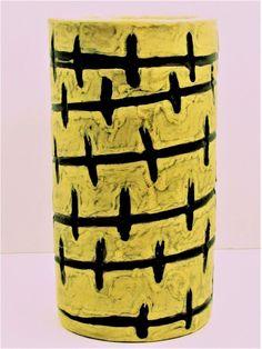 "VINTAGE MID CENTURY MODERN~GORKA LIVIA~HUNGARIAN~MAOE ART POTTERY KERAMIA 7""VASE Pottery Art, Hungary, My Ebay, Mid-century Modern, Vintage Jewelry, Porcelain, Mid Century, Vase, Antiques"