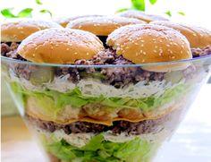 Impreza, Hamburger, Bread, Ethnic Recipes, Food, Brot, Essen, Baking, Burgers