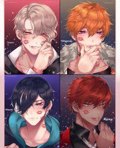 Handsome Anime Guys, Cute Anime Guys, All Anime, Anime Art, Demon Baby, Anime Drawing Styles, 7 Sins, Shall We Dance, Mystic Messenger