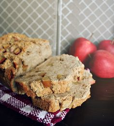 cinnful apple bread made with angry orchard hard cider