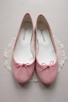Repetto pink ballet flats