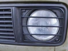 Vanagon headlight guard