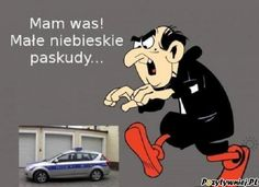 Heh Gargamel zawsze na propsie xD Scary Funny, Haha Funny, Polish Memes, Weekend Humor, Funny Mems, Jojo Memes, Best Memes, Hetalia, Laughter
