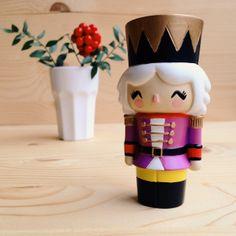 bywonderland.com #momiji #momijidolls #bywonderland Momiji Doll, Clothespin Dolls, Nutcrackers, Pasta Flexible, Wooden Dolls, Kawaii Cute, Decoration, Vinyl Figures, Cool Toys