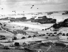 D-Day - Landing at Omaha Beach, 06/06/1944