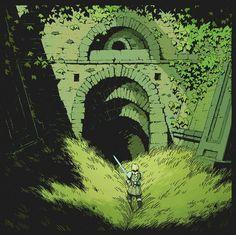 Fantasy World, Fantasy Art, Arte Cyberpunk, Environment Concept Art, Fantasy Inspiration, Fantasy Landscape, Pixel Art, Art Inspo, Amazing Art