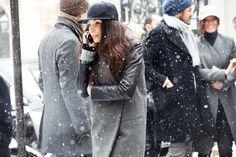 winter style: black