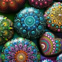 My video editing skills need some polish I know but it would be a shame not to share this short video of the mandala stones I painted in… Rock Painting Patterns, Dot Art Painting, Mandala Painting, Stone Painting, Mandala Painted Rocks, Mandala Rocks, Editing Skills, Video Editing, Elspeth Mclean