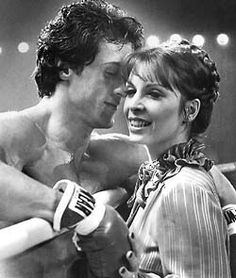 Rocky and Adrianne!