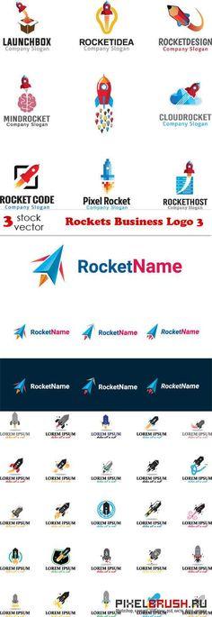 Vectors - Rockets Business Logo 3