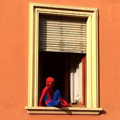 Les super héros vivent à #Cremona ça l'air. :) #Blogville #InLombardia - Instagram by moimessouliers
