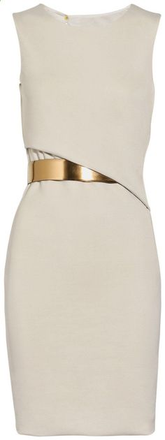 Gucci white dress.