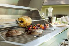 Rotisserie grill add on for Lowcountry outdoor kitchen at Plugs Appliance Center