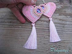 Ridgways / Heart collection Pink/Vitrail medium...vyšívané