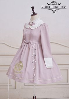 Your Highness -The Royal College- Embroidery Lolita OP Dress