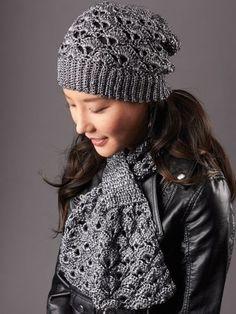 Silver screen hat - free crochet pattern