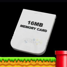 16mb #white memory card for nintendo #gamecube wii (brand new) game system #conso,  View more on the LINK: 	http://www.zeppy.io/product/gb/2/252089062403/