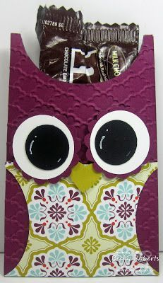 Owl Candy Holder February Stamp Clubs