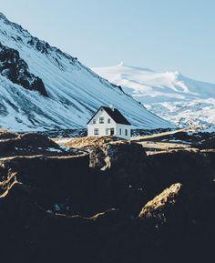 Anarstapi, Iceland.